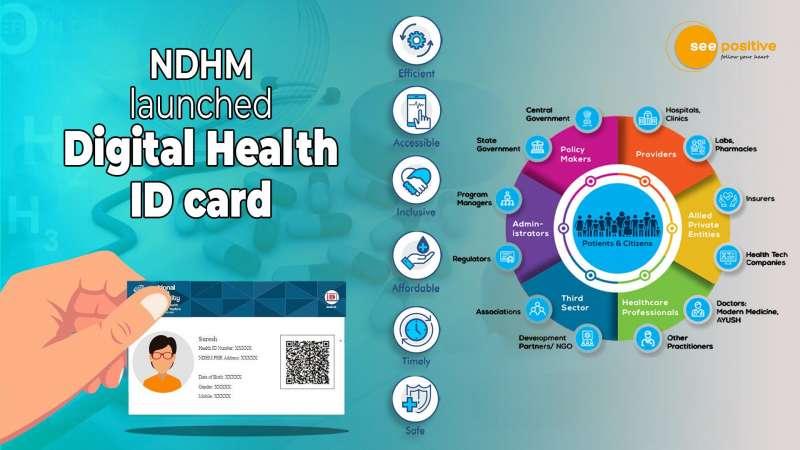 NDHM LAUNCHED DIGITAL HEALTH ID CARD